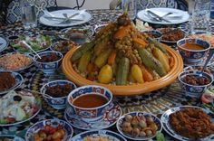 #Couscous con legumi, un piatto tipico del #Marocco!