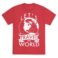 Let's Travel the World Tee