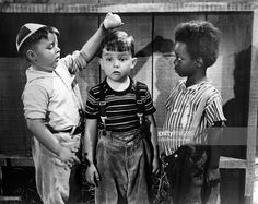 George McFarland as Spanky, Eugene Lee as Porky and Billie Thomas as Buckwheat…