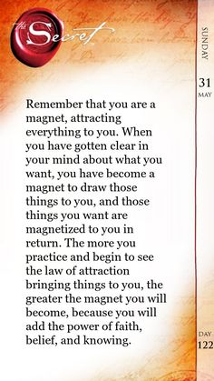 U are the magnet. Believe that you can attract anything. Whether $1 or million dollar. Its same for universe