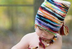 Cappelli a maglia per bambini, idee e schemi per l'inverno [FOTO]
