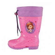 Γαλότσες παιδικές SOFIA THE FIRST Rubber Rain Boots, Shoes, Disney, Waterproof Boots, Princess Sofia, Zapatos, Shoes Outlet, Shoe, Footwear