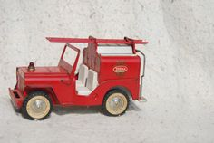 Hey, I found this really awesome Etsy listing at https://www.etsy.com/listing/207397637/vintage-tonka-jeep-pumper-425