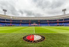 Dichtbij het gras van de Kuip Rotterdam, Fifa Football, Juventus Fc, Camp Nou, Baseball Field, Netherlands, Dutch, Soccer, World