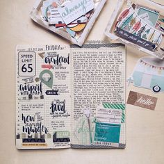 mypaperprojects: Last Friday, Oct 9th in my TN. #planneraddictmalaysia #midori #midoritravelersnotebook