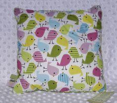 Poduszka ptaszki w Softka Handmade na DaWanda.com