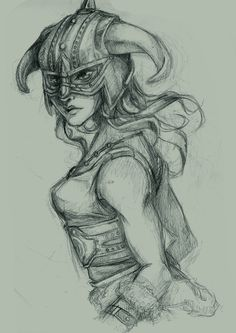 Skyrim - Dragonborn by BukaCieDopadnie on deviantART