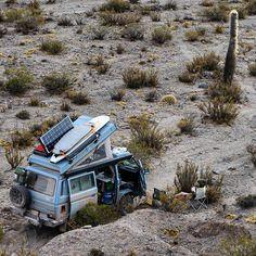 Crêpe Attack ! De Nashville à la Patagonie en VW T3 Syncro