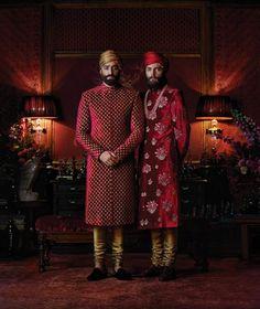 sabyasachi Mens Indian Wear, Indian Groom Wear, Indian Men Fashion, Indian Bridal Wear, Indian Wedding Outfits, Indian Ethnic Wear, Indian Male, Men's Fashion, Sikh Wedding