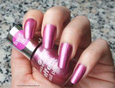 essence - the pink bang   nail polish - nagellack - metallic  essence - The Metals - rebel at heart  #essence #nailpolish #nagellack #manicure #bblogger