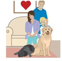 Dogs Love Being in Real Homes