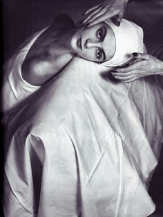 Carmen Dell'Orefice | Horst P. Horst, Vogue 1946