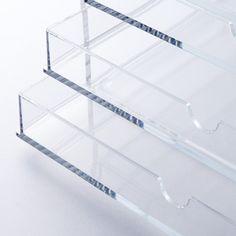 Acrylbox L mit 5 Schubladen MUJI Online Store