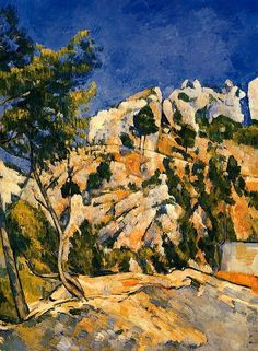 Bottom of the Ravine, Paul Cezanne