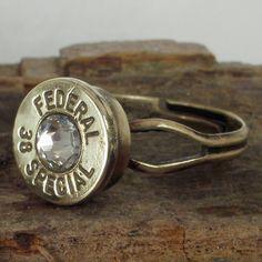 bullet ring! .22 casing!