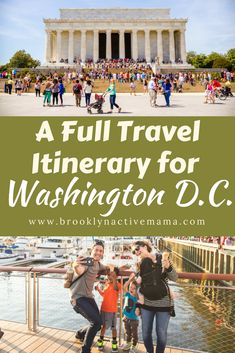 Traveling to Washington D. Check out this full travel itinerary with museums, restaurants and amazing sightseeing options! Washington Dc Travel Guide, Washington Dc With Kids, Washington Dc Vacation, Visit Washington Dc, Seattle Washington, Washington State, Solo Travel, Travel Usa, Travel Tips