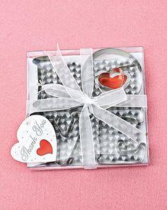 Ausstecher LOVE - Sie backen gerne, haben aber keine Zeit 100 Kekse für Ihre Gäste als Gastgeschenk zu backen? Kein Problem.