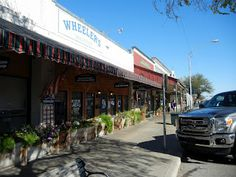 Fredricksburg, TX_ Cervezas and Shopping.  Does it get any better?