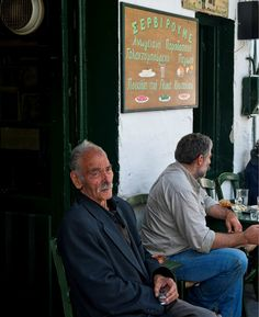 """People : proud and friendly people, with a great sense of humor, ready to help you in any way they can and offer you a glass of """"raki"""" (the locally produced drink). Crete Island, Village People, People Of The World, Dream Land, Humor, Greece Travel, Nostalgia, Life, Drink"""