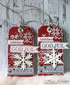 God morgen! Da var vi kommet til siste dag i november, og julehøytiden nærmer seg med stormskritt. Mange har nok julegavene på plass allere...
