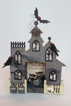 Haunted house by Missing Willow on craftster.org