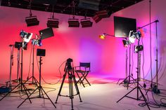 Video Studio, 3d Studio, Studio Room, Dream Studio, Film Studio, Studio Setup, News Studio, Studio Lighting, Home Studio