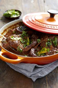 Osso Buco (Veal Shanks...or can substitute short ribs. Delicious recipe (gremolata unnecessary in my opinion).