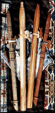 Native American Flutes    Native Americans, through generations of change, created the Love Flute which is technically superior in design and sound. Each flute was individually crafted so each flute has a slightly different sound. The flute is often made of cedar. Although it is called the love flute, it is used in prayer of all kinds. The sweet music of the flute creates an altered state (sometimes referred to as alpha state) which is very relaxing.