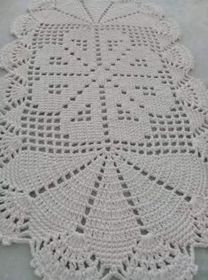 Crochet Baby Blanket / Baby Pink and White Blanket /Open Weave Lace / Shower Gift / Newborn Prop / Crochet Table Runner, Lace Table Runners, Crochet Tablecloth, Filet Crochet, Crochet Motif, Crochet Doilies, Crochet Flower Patterns, Crochet Flowers, Knitting Patterns
