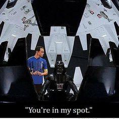 You're in my spot. Sheldon