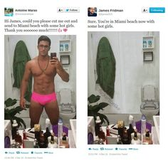 Funny Photoshop requests to James Fridman - 4