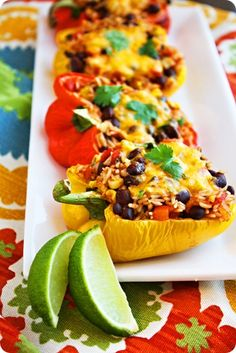 Southwestern Stuffed Peppers. YUM!!!!