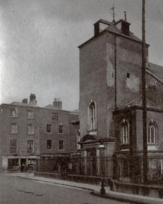 My great grandparents were married here in It is now a bar and restaurant. Dublin Street, Dublin City, Tipperary Ireland, Dublin Ireland, Old Pictures, Old Photos, Gone Days, Photo Engraving, Emerald Isle
