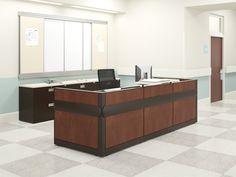 HON Healthcare: Caregiver's Station. Learn more at www.hon.com. #healthcare #furniture