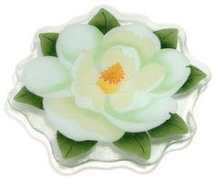 Magnolia flower platter