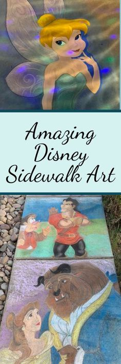 Disney Sidewalk Art that will blow your mind! Uplifting Messages, Disney Home Decor, Aristocats, Sidewalk Chalk, Day Work, Online Work, More Pictures, Disney Magic, Family Portraits