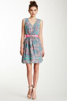 Pom Pom Trim Dress by Jessica Simpson on @HauteLook  $68