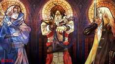castlevania netflix at DuckDuckGo Castlevania Wallpaper, Alucard Castlevania, Castlevania Netflix, Castlevania Games, Anime Ai, Fanarts Anime, Manga Anime, Carmilla, Animes Wallpapers