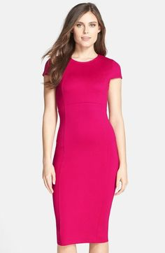 FELICITY & COCO Seamed Pencil Dress (Nordstrom Exclusive) (Regular & Petite) available at #Nordstrom@tonjaamen