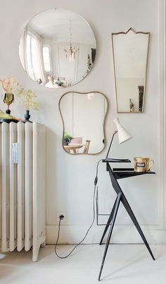 Different Shaped Mirrors constellation mirror (round shaped contemporary mirror) | mirror