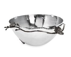 $325 Michael Aram Black Orchid Large Bowl http://www.4laperla.com/index.php/brands/michael-aram/black-orchid-bowl-large.html