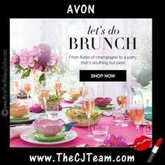 The Brunch Bunch: Must-Haves For Every Party! Simple Spring Style with Avon Living Campaign 8, 2017 through Campaign 11, 2017! Shop Avon Living Spring Magalog online March 16, 2017 through May 10, 2017. Avon Living items are While Supplies Last.  So shop early before your favorites are gone! :)  #Avon  #CJTeam #AvonLiving #C9 #HomeDecor #Spring #SpringHomeDecor #Brunch #BrunchBunch #WhileSuppliesLast Shop Avon Online @ www.TheCJTeam.com