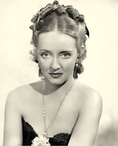 "Bette Davis, ""Jezebel"", 1938. Those gorgeous eyes inspired a song made famous by Kim Carnes."