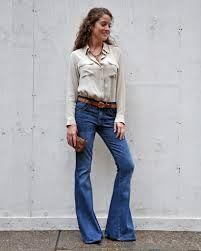 Resultado de imagen de flare jeans