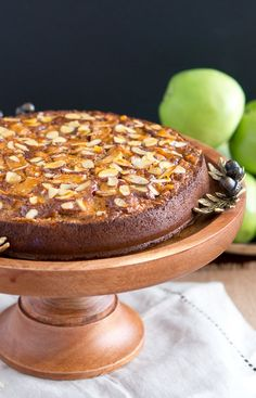This apple almond cake is made with just afew simple ingredients and has a very delicate apple and almond flavor. It is paleo and gluten-free too!