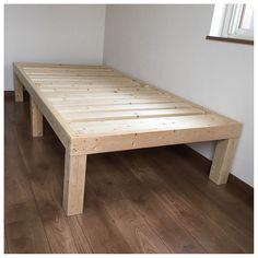 Homemade Bedroom, Homemade Beds, Platform Bed Plans, Diy Platform Bed, Bed For Girls Room, Small Room Bedroom, Diy Pallet Furniture, Furniture Plans, Cama Tatami