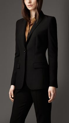 Minimal Tailored Jacket | Burberry