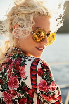 c302501ff0901b Pixie Lott Soaks Up the Sun in Summer Looks for InStyle UK