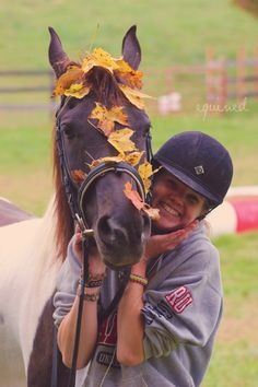 equined: We're celebrating fall. Bek is not... - Horsing Around
