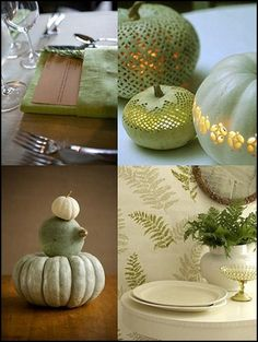 Using green in your Fall decor